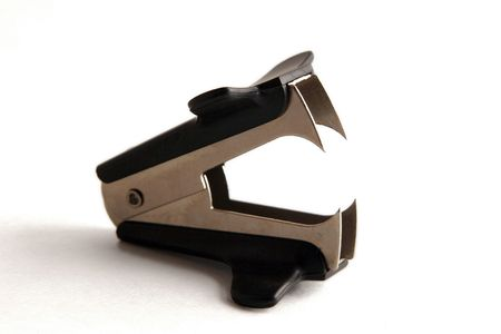 Staple remover. Stock fotó