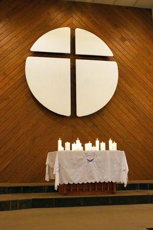 Modern church altar. Stock Photo - 615041