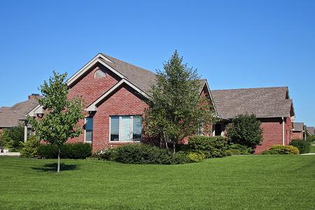nice suburban home Stock Photo - 1696155