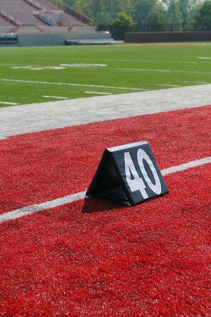 40-yard line marker