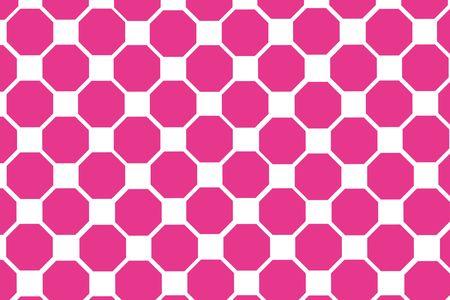 octagon: simple geometric octagon pattern Stock Photo