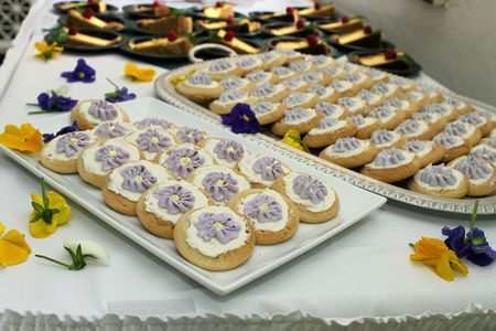 cookies and pies at an event