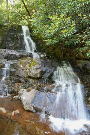 Laurel Falls in the Smoky Mountains National Park