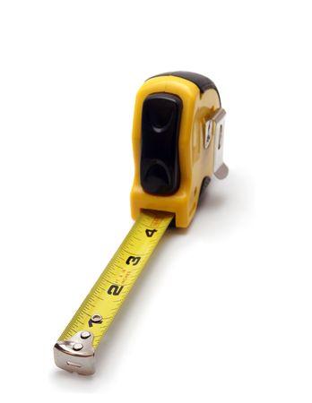 extended measuring tape Фото со стока