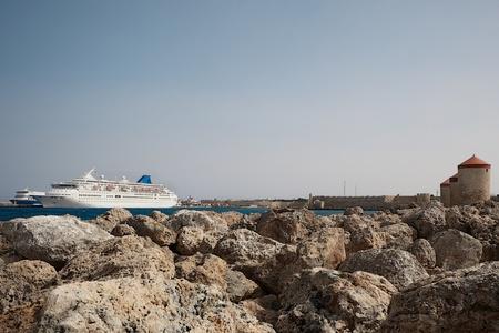kilometres: Rhodes is a Greek island approximately 18 kilometres southwest of Turkey in the eastern Aegean Sea.