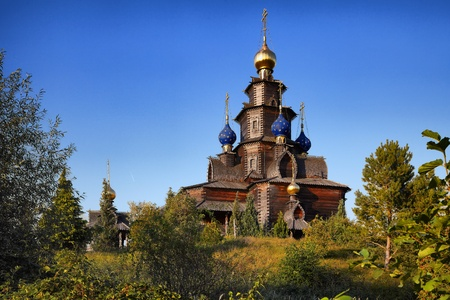 conformist: The Russian church brought from Arkhangelsk