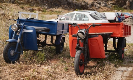 The Greek Trucks Stock Photo - 12056467