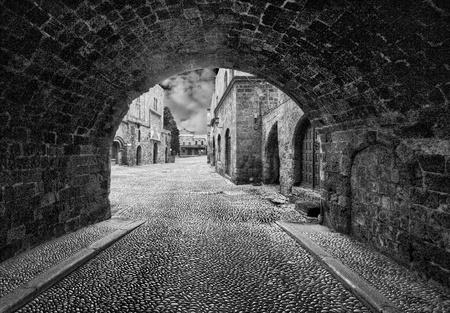 Greece, Rhodes, Old city photo