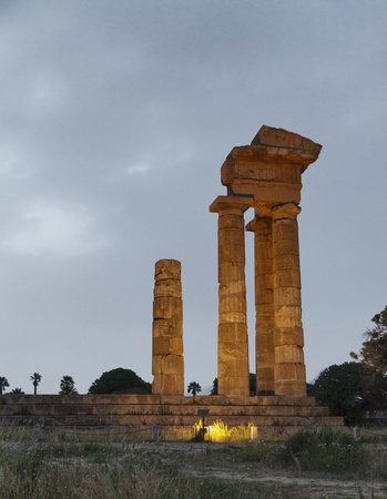The Acropolis of Rhodes is an acropolis dating from the Hellenistic period 3 kilometers from the centre of Rhodes photo