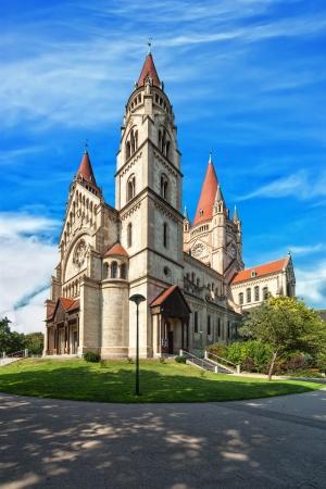 franz: Wien, 2  Bezirk, Kirche zum Heiligen Franz von Assisi