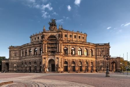 Semper Opera from outside in Dresden photo