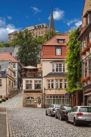 View at saxony town Blankenburg