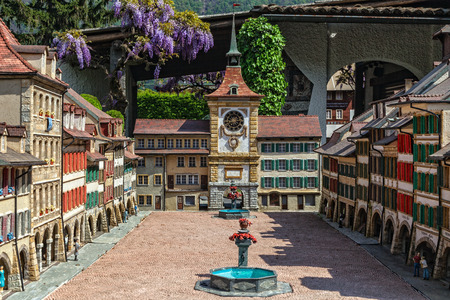 Murten is a municipality in the See district of the canton of Fribourg in Switzerland  Nr 77