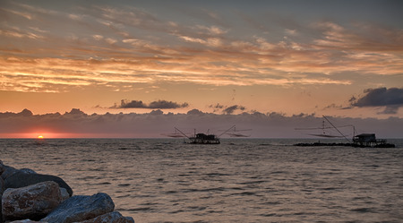 pisa: Sunset in Marina di Pisa