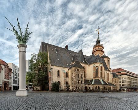 Church of St. Nicholas in Leipzig, Germany