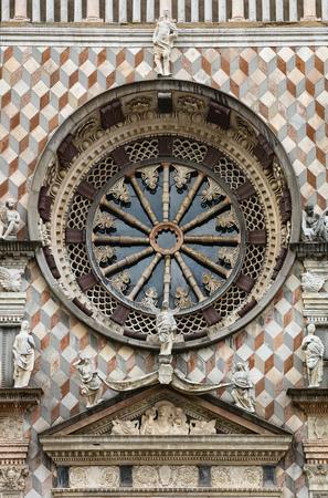 cappella: La Cappella Colleoni es una iglesia y mausoleo en Bergamo, en el norte de Italia. Foto de archivo