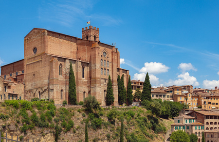 The Basilica of San Domenico, is a basilica church in Siena, Tuscany, Italy, one of the most important in the city.