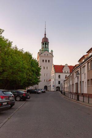 Pomeranian Dukes Castle in Szczecin City (Stettin), Poland. 版權商用圖片