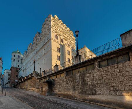 The Ducal Castle in Szczecin, Poland 版權商用圖片