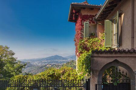 Landscape from Saint Vigilio hill. Salita dello Scorlazzone.