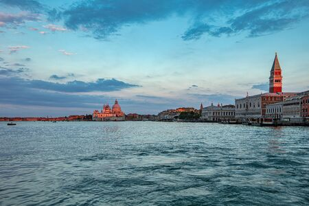 View of Venice in the morning at sunrise 写真素材