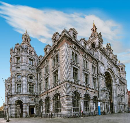 Antwerp Central - the main railway station of Antwerp (Belgium), as well as one of the attractions of the city.