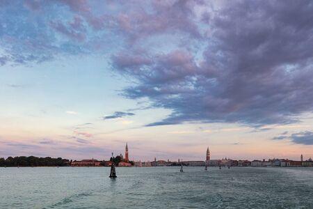 The church of San Giorgio Maggiore on Isola San Giorgio at morning, Venice