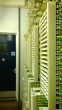 telecoms: Telecoms IDC connessioni del sistema porta a banda larga Archivio Fotografico