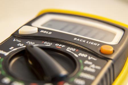 capacitance: Electric test meter