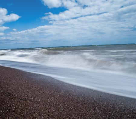long shots: long exposure shots at teignmouth beach .