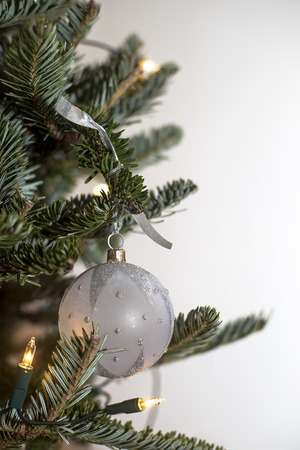 chirstmas: Isolated chirstmas tree decoration  ballball
