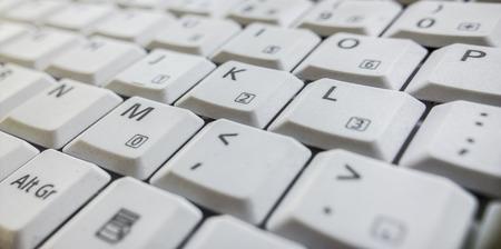 buisiness: Closeup of a computer keyboard