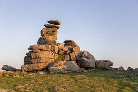masonary: Various shots at Staple Tor on Dartmoor National Park in Devon UK