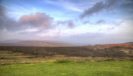 Devon shot landscape on a sunny summers day