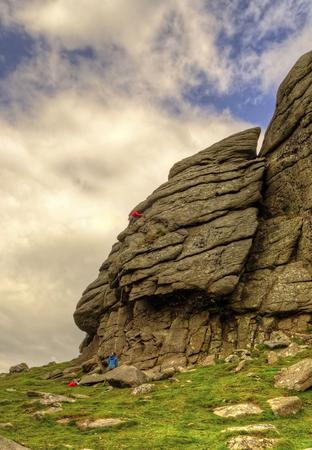 Climbers Haytor
