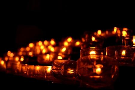 Church Candles Reklamní fotografie
