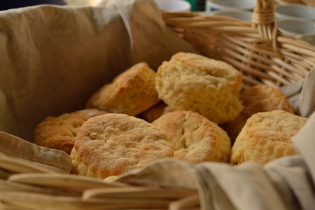 Freshly Baked Biscuits