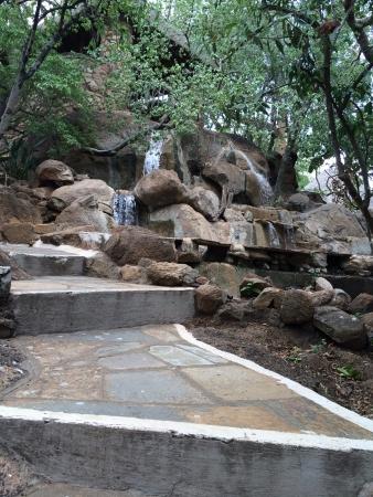 man made: Man made waterfall