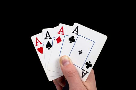 conceal: Winning Hand Stock Photo