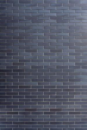 clinker: Il muro di mattoni clinker scuro - piastrelle. Avvolti intorno texture, pronto per l'uso in 3d vizualisation.  Archivio Fotografico