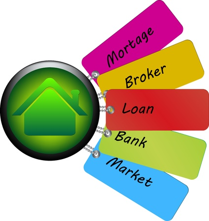 terms using for home loans Stock Photo