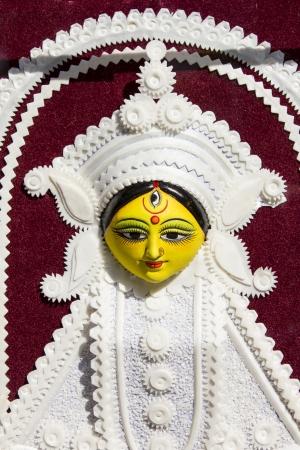 goddess durga statue photo