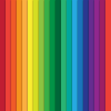 Background with multicolored bars in vertical design photo
