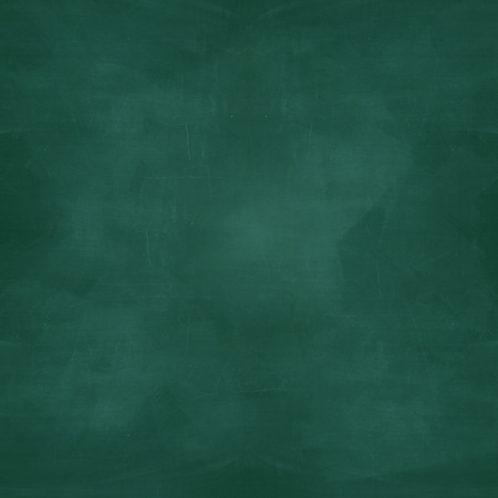 blank green chalkboard with grunge effect Stock Photo