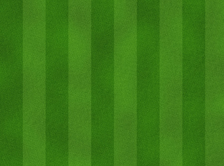 green soccer field from top view Stock Photo