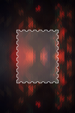 Geometric abstract texture for background with message box