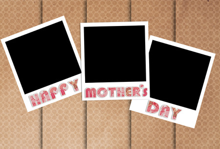 preserve: happy mothers day photo frames on designer wallpaper to preserve the memories