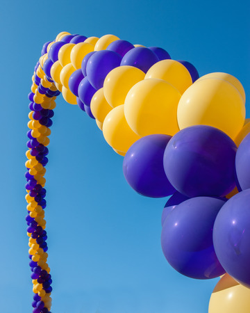 Balloon arch of welcome