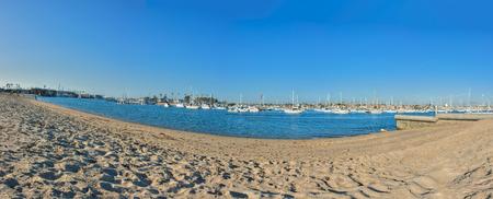 balboa: Balboa Island is just across the harbor.