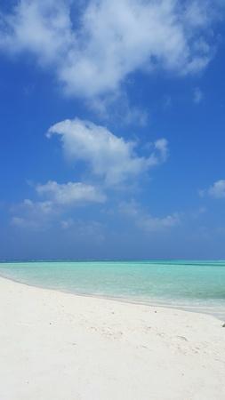 sandbank: Maldives beautiful white sandy beach background on sunny tropical paradise island with aqua blue sky sea water ocean 4k